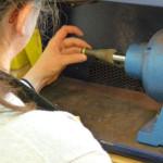 Nick Kellett Jewellery With This Ring Workshop Polishing 5