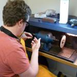 Nick Kellett Jewellery With This Ring Workshop Polishing 8